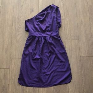 Purple One-shoulder Vince Camuto Dress